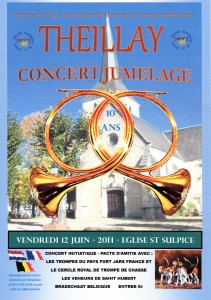 Affiche Theillay Concert